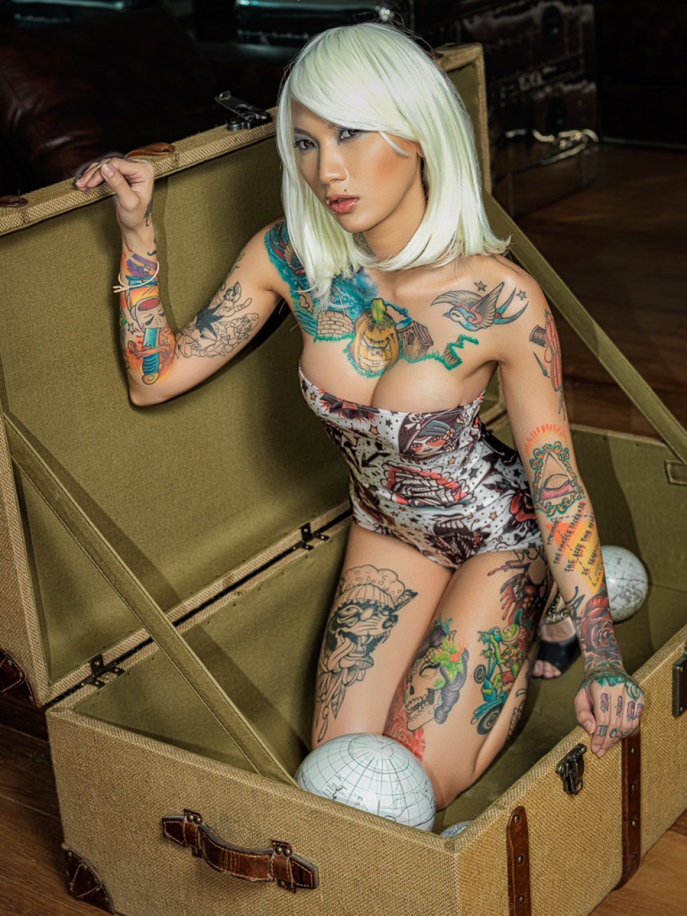 Stowaway tattoo model