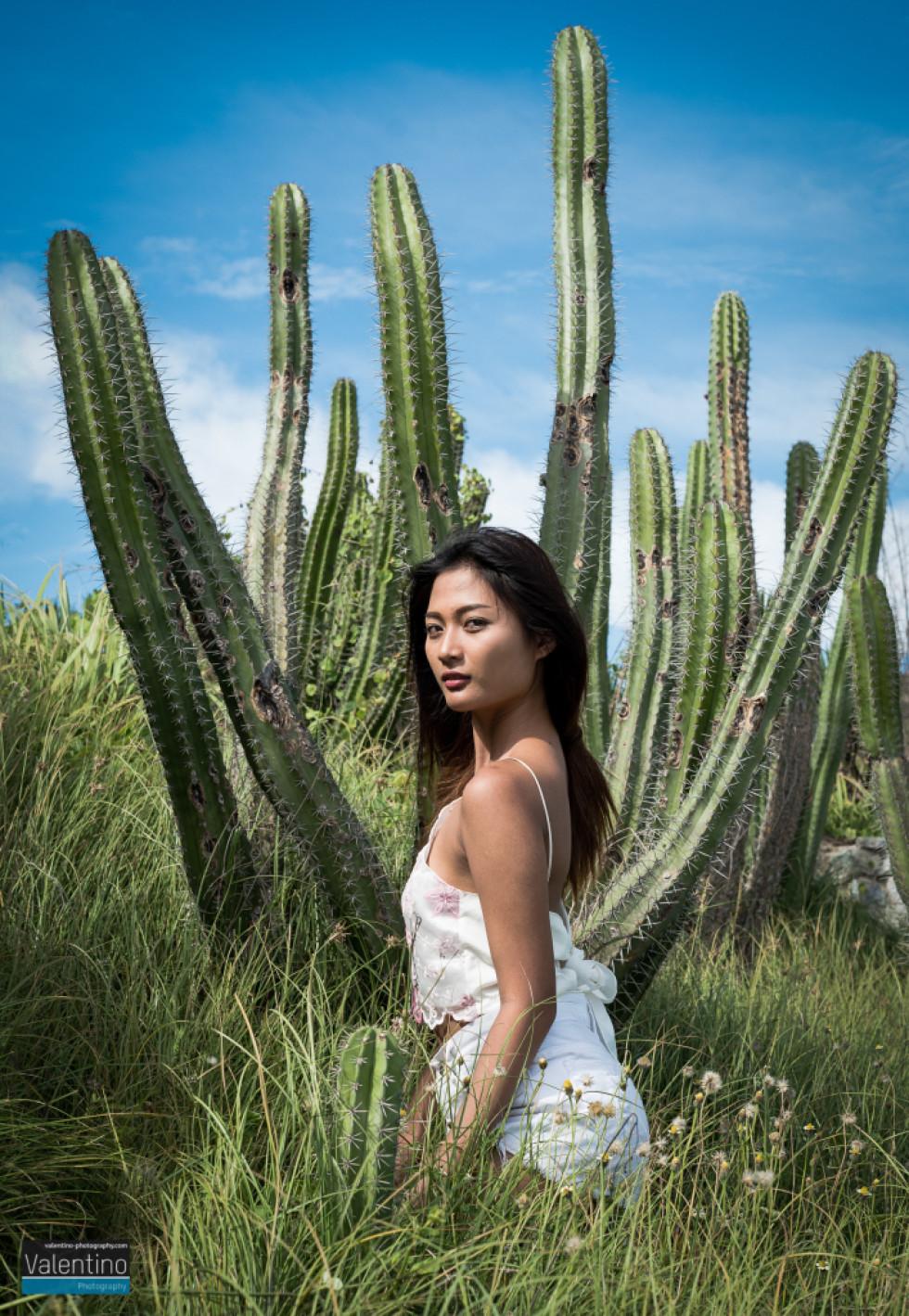 Elle Cactus on Koh Larn Island