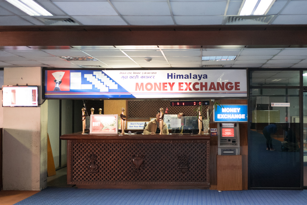 Kathmandu, Nepal, december 7th 2016: arrival at airport