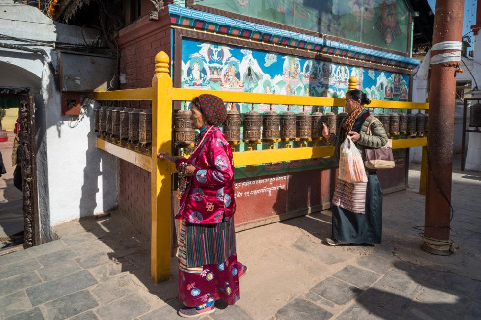 Around Boudha, Kathmandu