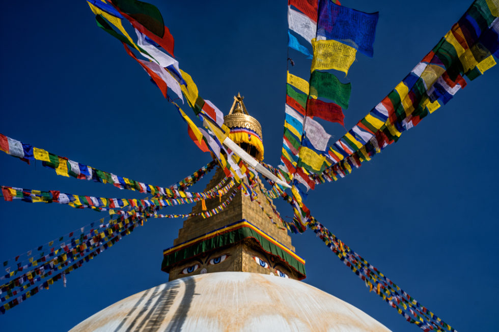 Boudha biggest buddhist stupa is asia