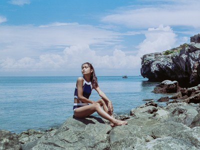 Swimwear on film