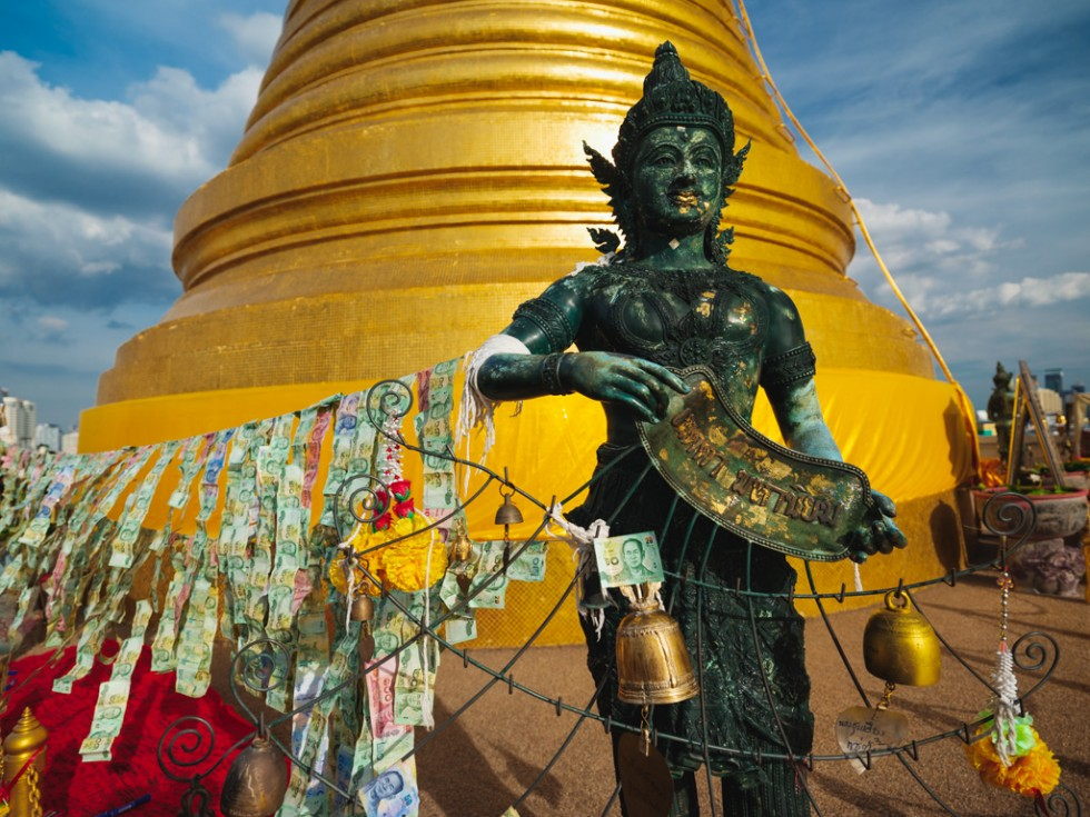 Golden mount, Wat Saket